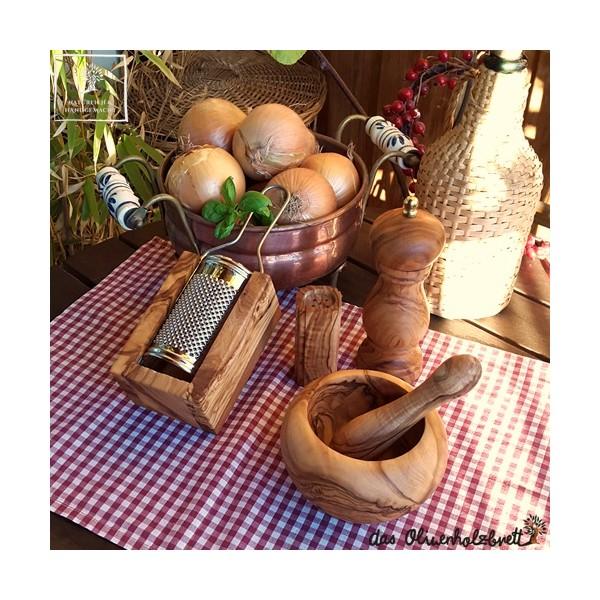 pfeffermühlen aus olivenholz
